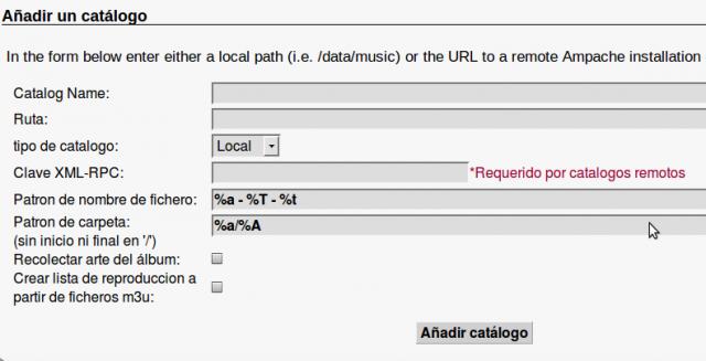Ampache: Configuración y Uso del Servidor Streaming  - Laupri   com